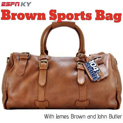 Brown Sports Bag