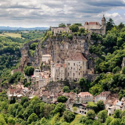 Cover art for Rocamadour the Medieval Village Hanging on a Cliff, Episode 338
