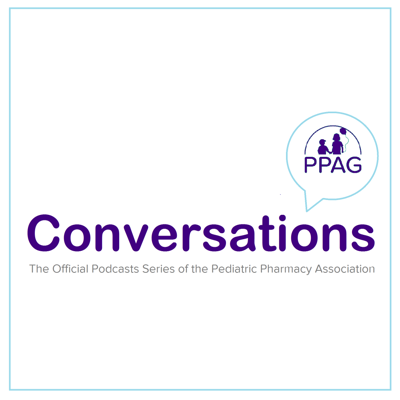 Hosted by Dr. Bob John, a member of the PPAG Board of Directors, PPAG Conversations is the official Podcast of the Pediatric Pharmacy Association. PPAG Conversations highlights current topics in pediatric and neonatal critical care, general pediatrics, and hematology/oncology.