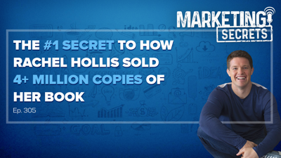 Cover art for The #1 Secret To How Rachel Hollis Sold 4+ Million Copies Of Her Book