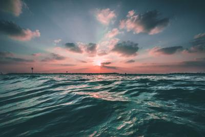 Above the Waves: (verb) to see above trials, trauma and lies of this world and focus your sight on the overwhelming strength, grace and love from God.