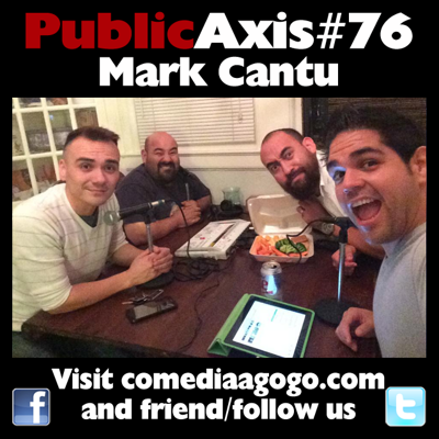 Cover art for Public Axis #76: Mark Cantu