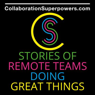 Lisette Sutherland is interviewing people and companies doing great things... remotely! These interviews are packed with stories and tips for those whose business models depend upon successfully bridging distance to accomplish knowledge work.