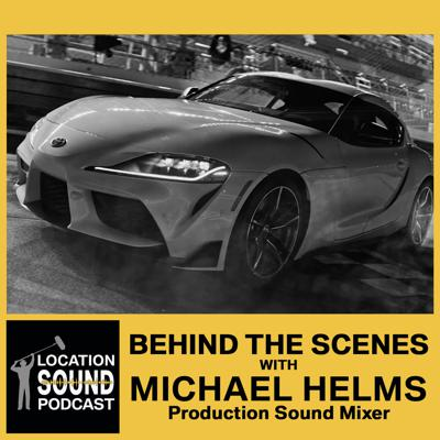 Cover art for 068 Michael Helms - Behind-The-Scenes filming at Daytona International Speedway