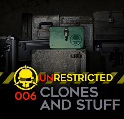 Cover art for Clones and Stuff