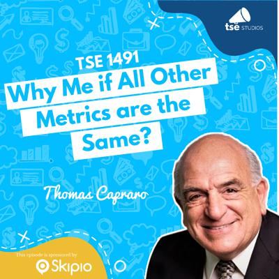 Cover art for Why Me if All Other Metrics are the Same?   Thomas Capraro - 1491