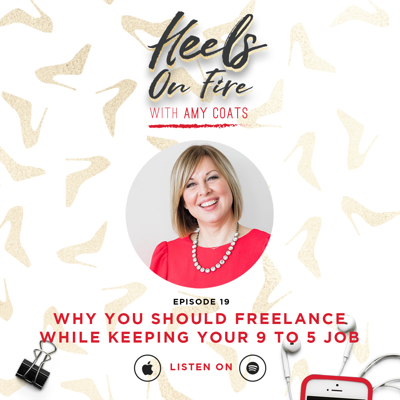 Cover art for 19: Why You Should Freelance While Keeping Your 9 to 5 Job