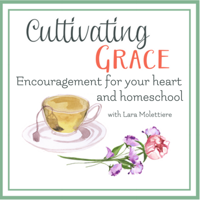 Join us as we cultivate grace into the principles and practices of homeschool and motherhood. Homeschool experts and mom mentors will be here to share encouragement, tackle questions about homeschooling methods, learning styles, and help you cultivate a home and mom-life filled with learning and love. Right here -- every other Saturday.