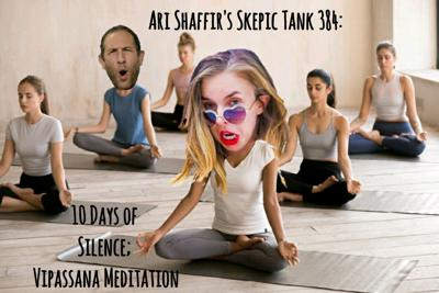 Cover art for #384: 10 Days of Silence; Vipassana Meditation (with Jessica Michelle Singleton)