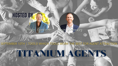 Cover art for September 10th | Agent Attraction | Tools! Which tools work the best for Agent Attraction