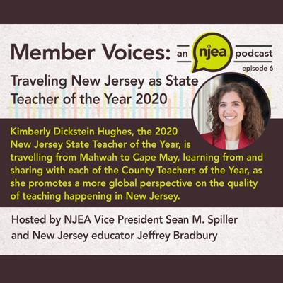 Cover art for Traveling New Jersey as State Teacher of the Year 2020