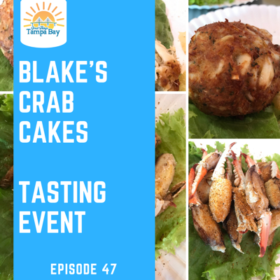 Cover art for Blake's Crab Cakes - Tasting Event and the results were DELICIOUS! [St Pete]