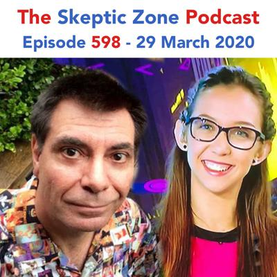 Cover art for The Skeptic Zone #598 - 29.March.2020