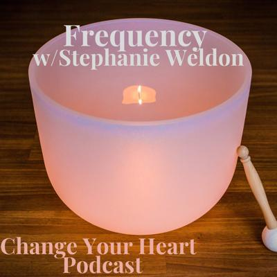Cover art for 004 FREQUENCY with Stephanie Weldon