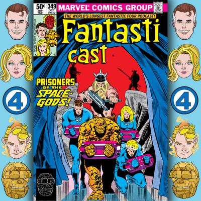 Cover art for Episode 349: Fantastic Four #224 - The Darkfield Illumination