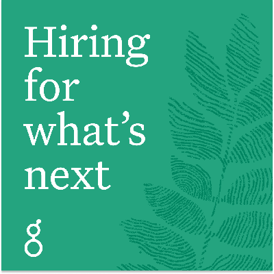 Hiring for what's next