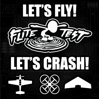 Flite Test is an entertainment company that is all about flight. We love to test, fly and sometimes even crash when things go wrong! We often talk about flying, building & repairing RC airplanes, setting up quadcopters, occasionally helicopters and anything else related to radio control flight.  FliteTest After Hours is hosted by Chris and he often goes into the behind the scenes of the webshow, the radio control industry, and has very entertaining guests on the show.