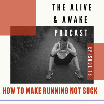 Cover art for How to make running not suck...