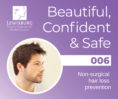 Cover art for 6. Learn about a non-surgical hair loss prevention procedure