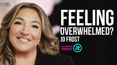 Cover art for SupernannyJoFrost on Raising Kids in Crazy, Challenging Times | Women of Impact