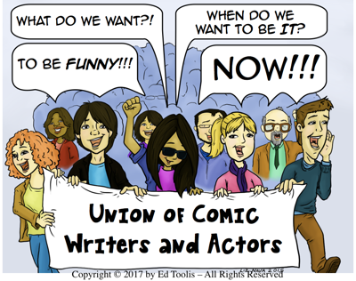 Cover art for 13 - UCWA Begs All Humor Fans to Help Them End Starvation - Theirs