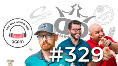 Cover art for Beat in discs, Premium Plastic Judge, Bag Tags, and More on Disc Golf Answer Man Ep 329!