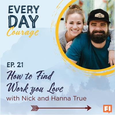 Cover art for How to Find Work You Love with Nick and Hanna True