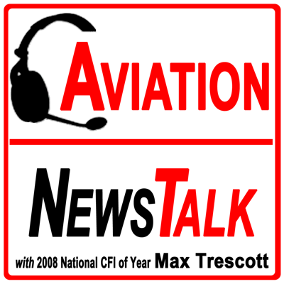 General Aviation news, pilot tips for beginners & experts, interviews, listener questions answered, technical details on G1000 & Perspective glass cockpits & flying GPS approaches. 40 yrs experience flying general aviation aircraft. As an active flight instructor, I bring my daily experiences in the air to this show to help teach pilots and future pilots to fly safely. I'm a Platinum Cirrus CSIP instructor and work with people who are thinking about buying a new or used SR20 or SR22. Go to AviationNewsTalk.com for my contact information, or to click on Listener Questions, which lets you speak into your phone to leave a question you'd like answered on the show.