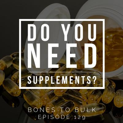 Cover art for Do You Need Supplements?