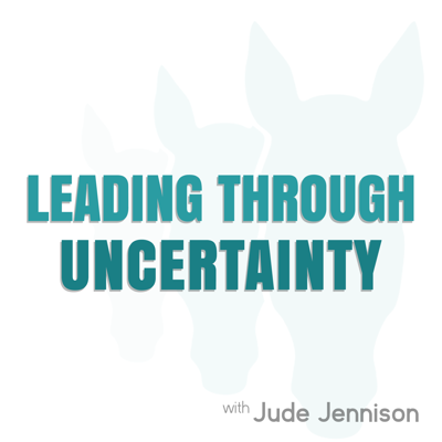 Jude Jennison of Leaders by Nature interviews CEOs and leaders in organisations on the challenges they face leading through uncertainty.  www.judejennison.com