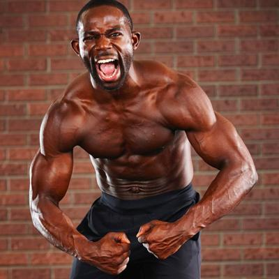 Cover art for Bodyweight, Total-Body Home Workouts to Get Shredded (Gideon Akande)
