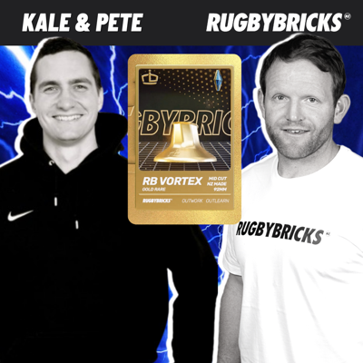 Cover art for #53: Peter Breen & Kale Panoho | The First Release Of The New Limited Edition Rugby Bricks Gold Rare NFT