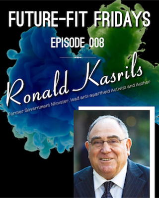Cover art for Episode 008: Future-Focused Politics  with Ronald Kasrils