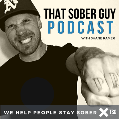 That Sober Guy Podcast was created by Producer Shane Ramer. Shane battled a 17 year alcohol and drug addiction and in 2013 he sought treatment. Less than a year later, he started That Sober Guy Podcast as a way to share his own recovery and allow others to share theirs. Today, TSG is one of the top recovery podcasts with millions of downloads across multiple continents. Shane resides with his family in Northern California.  Check out TSG at www.ThatSoberGuy.com