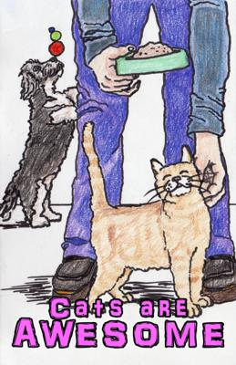 Cover art for Here Comes the Pitch #23 Cats are AWESOME Rosemary Malone