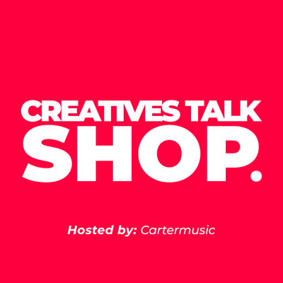 🎧 A podcast discussing creative lifestyle, entrepreneurship, workflow and mental health. 🎙Hosted By: Cartermusic ⏤ Creatives Talk Shop speaks with all creatives from different walks of life! From Visual artist, poets, creative marketers, musicians and much more!