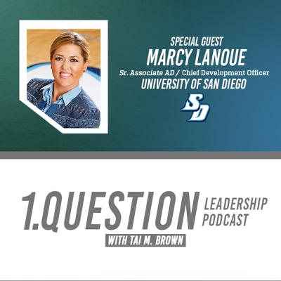 Cover art for Marcy Lanoue   Sr. Associate AD/Chief Development Officer/SWA   University of San Diego