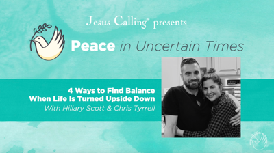 Cover art for 4 Ways to Find Balance When Life Is Turned Upside Down with Hillary Scott & Chris Tyrrell