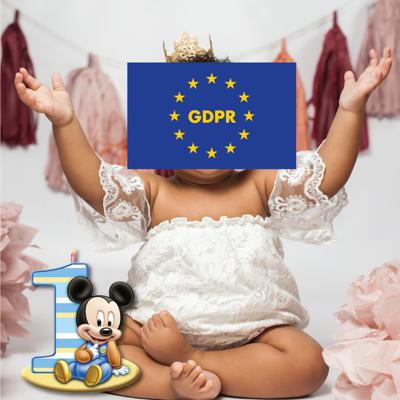 Cover art for 1 year after GDPR: Is the EU really private?