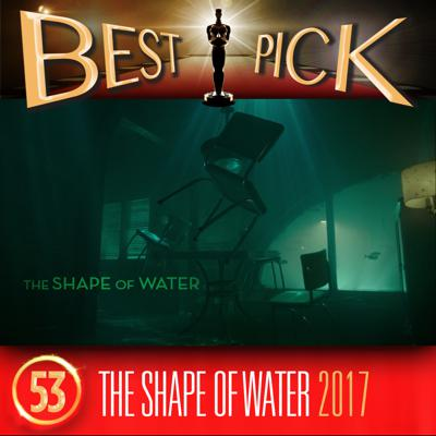 Cover art for BP053 The Shape of Water (2017) with special guest Sarah Bennetto
