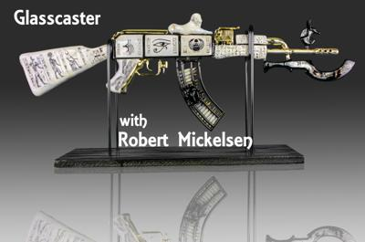 Cover art for Glasscaster with Robert Mickelsen