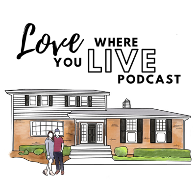 Welcome to Love Where You Live, a podcast by interior design team Jeremy and Chandler of Peach and Pine Home.   We love what we do because we get to help people create spaces where they can thrive. We love helping people find inspiration and joy where they spend the most time - in their homes! We love listening to our clients dream about what their home could be and how it could better serve them. And we LOVE creating the designs that get them there.   In this podcast, we'll tackle topics in interior design, renovation and remodeling, home tips and tricks, DIY, home decor, and more. You'll hear practical knowledge on everything from planning full-scale renovations to updating small spaces in your home. We'll also have some pretty awesome guests on the show with inspiring perspectives on what makes home, well, home!  Your home is vitally important to your ability to live life to the fullest. Are you ready to be inspired to make your home a place where you and your family can thrive? We are here to help YOU Love Where You Live.