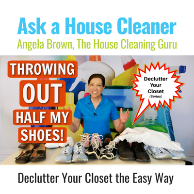 Cover art for Throwing Out Half My Shoes | Massive Declutter Your Closet