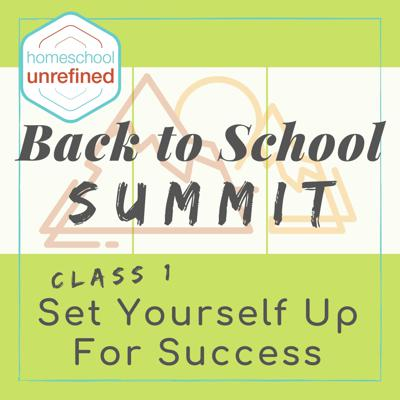 Cover art for Set Yourself Up For Homeschool Success