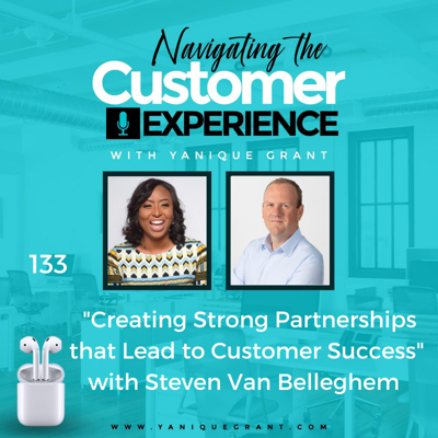 Cover art for 133: Creating Strong Partnerships that Lead to Customer Success with Steven Van Belleghem