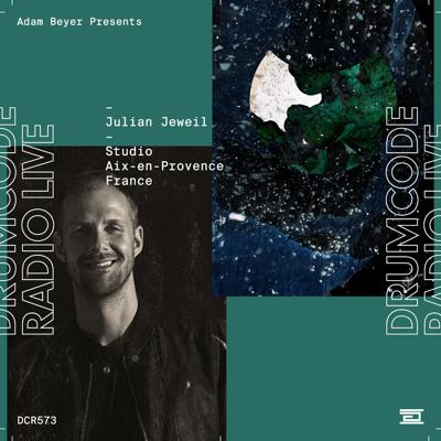 Cover art for DCR573 – Drumcode Radio Live – Julian Jeweil Studio Mix recorded in Aix-en-Provence