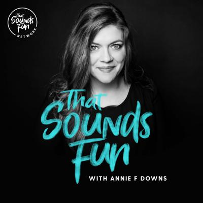 Christian author and speaker Annie F. Downs shares with you some of her favorite things: new books, faith conversations, restaurants, travel stories, musicians not to miss, interviews with friends. Pretty much, if it sounds fun to Annie, you're gonna hear about it.