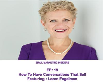 Cover art for EP 19: How To Get BIG Results from a Small Email List Using High Ticket Offers