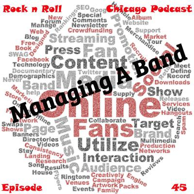 Cover art for Ep 45 Managing A Band