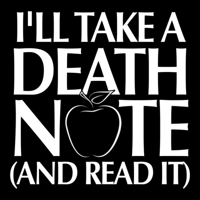 Welcome to I'll Take a Death Note and Read It, a podcast on the manga Death Note by Tsugumi Ohba and Takeshi Obata. We'll take a close look at each volume of the series to explore questions about morality, human nature, potato chips, and more. Like what you hear? Gimme a rating on iTunes! You can also send questions and comments to illtakeadeathnotepodcast@gmail.com.